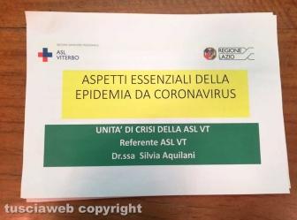 Coronavirus - Il vademecum dell'Asl