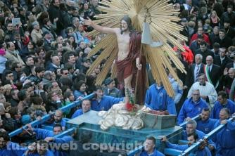 Pasqua - Tarquinia - Cristo risorto