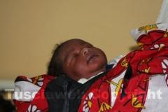 Uno degli ultimi nati all\'ospedale di Gede