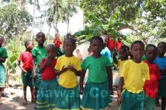 I piccoli studenti Karibuni