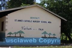 La S.Anne Catholic Nursery School di Mida, realizzata da Karibuni