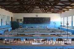 Il laboratorio di chimica di una delle scuole di Karibuni
