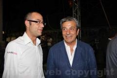 Baffo con Antonio Delli Iaconi