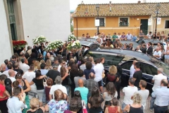 Il funerale di Daniele Pistone