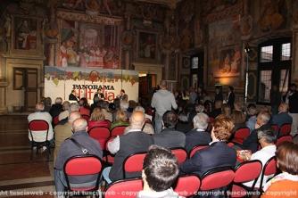 Dario Franceschini a palazzo dei Priori