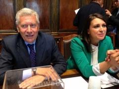 Leonardo Michelini e Luisa Ciambella