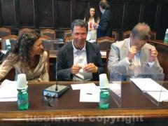 L\'ex sindaco Giulio Marini tra i banchi dell\'opposizione