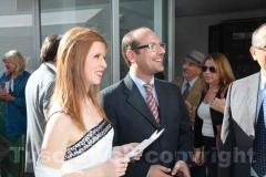 Valeria Monacelli e Claudio Ferri
