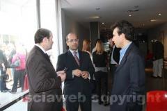 Il maestro Stefano Vignati, Claudio Ferri e il console Giuseppe Perrone