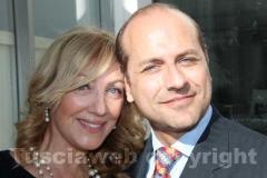 Claudio Ferri e Anna Paola Snaidero