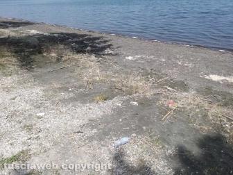 La spiaggia di Montefiascone