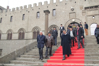 Delegazione cinese in città