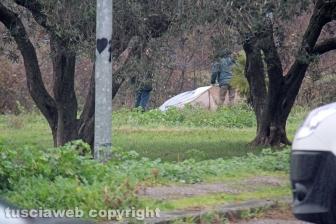 Delitto di Santa Lucia, la polizia al lavoro