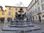 Deturpata la fontana di piazza delle Erbe