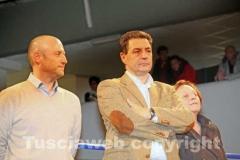 Il vicesindaco Buzzi e il sindaco Marini