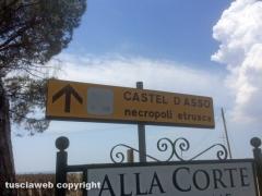 Discarica a cielo aperto a Castel D'Asso