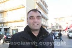 Il sindaco di gallese Danilo Piersanti