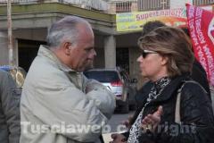 Il sindaco di Corchiano Bengasi Battisti e Miranda Perinelli