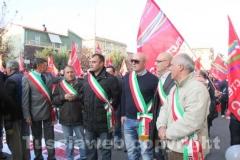 I sindaci e i rappresentanti dei comuni del distretto