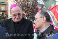 Il vescovo Romano Rossi e il sindaco di Nepi Franco Vita