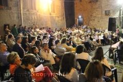 Il processo a don Abbondio in piazza del Fosso - Il pubblico
