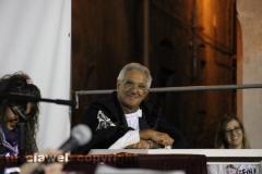 Il processo a don Abbondio in piazza del Fosso - L\'ufficiale giudiziario Maurizio Federici