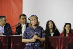 Il processo a don Abbondio in piazza del Fosso - L\'avvocato Maria Luisa Piccirilli nei panni di Perpetua