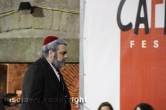 Il processo a don Abbondio in piazza del Fosso - L\'avvocato Michele Mancini nei panni del cardinale Borromeo