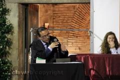 Il processo a don Abbondio in piazza del Fosso - Il pm Massimiliano Siddi