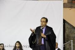 Il processo a don Abbondio in piazza del Fosso - L\'arringa dell\'avvocato Cataldo Intrieri
