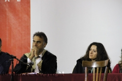Il processo a don Abbondio in piazza del Fosso - I giudici Ascenzi e Loi