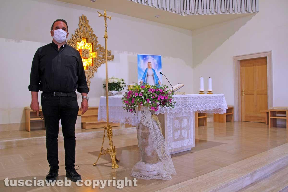 Don Luca Scuderi e la chiesa della Sacra famiglia al Carmine