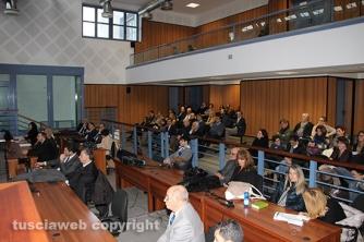 Il pubblico alla tavola rotonda organizzata dalla camera penale