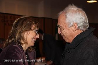 Donatella Ferranti parla con l\'avvocato Roberto Massatani