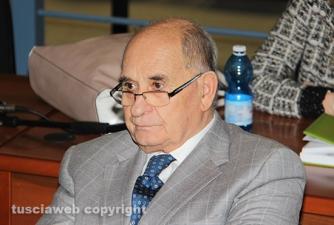 L\'avvocato Giorgio Barili tra il pubblico