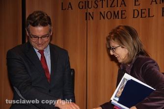 Donatella Ferranti e Carlo Mezzetti