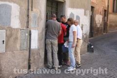 Donna trovata morta in via della Marrocca