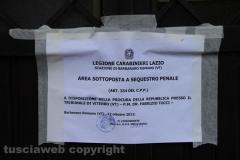 Barbarano Romano - Donna uccisa a coltellate - L\'intervento dei carabinieri