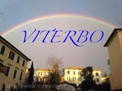 Doppio arcobaleno su Viterbo - Foto di Emiliano Frittelli