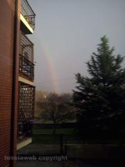 Doppio arcobaleno su Viterbo - Foto di Giulia Monacelli