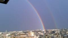 Doppio arcobaleno su Viterbo - Foto di Giuliano Goletti