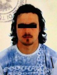 Uno degli arrestati - D.V.