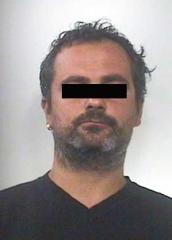 Uno degli arrestati - M.V.
