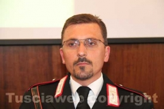 Luigi Grella, maresciallo capo della stazione dei carabinieri di Vejano