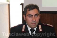 Angelo Fazzi, comandante del Nucleo operativo radiomobile della compagnia carabinieri di Ronciglione