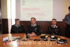 Operazione New generation, i carabinieri illustrano i dettagli del blitz