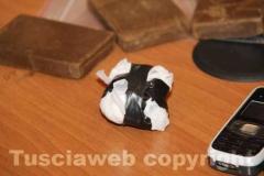 I 40 grammi di cocaina trovati in possesso agli arrestati