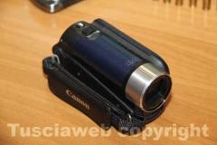 La videocamera provento di furto