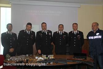 Bassano Romano - Sequestrata piantagione di droga e deposito di armi - La conferenza stampa dei carabinieri