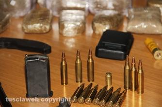 Bassano Romano - Sequestrata piantagione di droga e deposito di armi